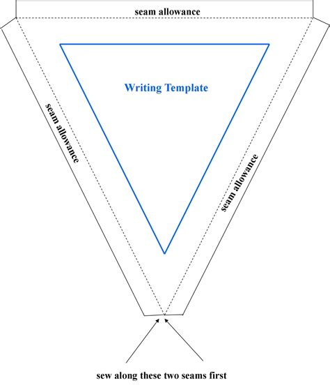 bunting template creative you how to craft flag bunting