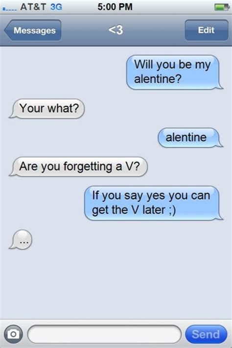 valentines day text message image gallery humorous messages