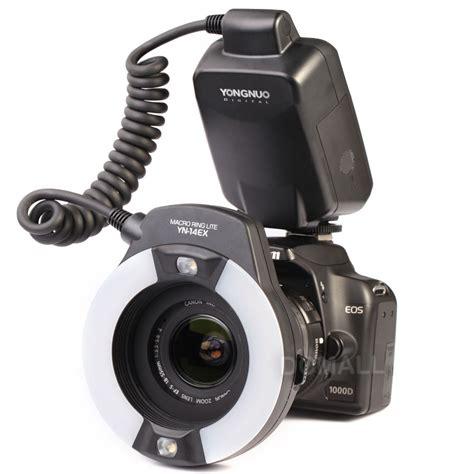 ring light flash canon yongnuo yn 14ex c macro ring lite for canon cameras
