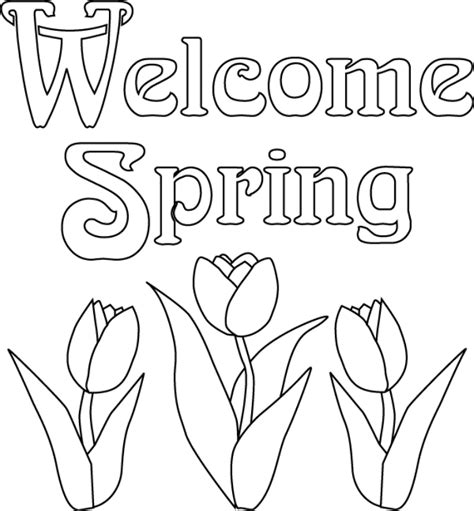 free coloring pages for preschoolers spring coloring pages for spring coloring home