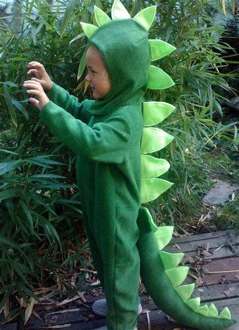 dinosaur halloween costume green dino kids costume full
