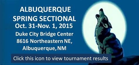 acbl sectional bridge results tournament results and photos duplicate bridge in el