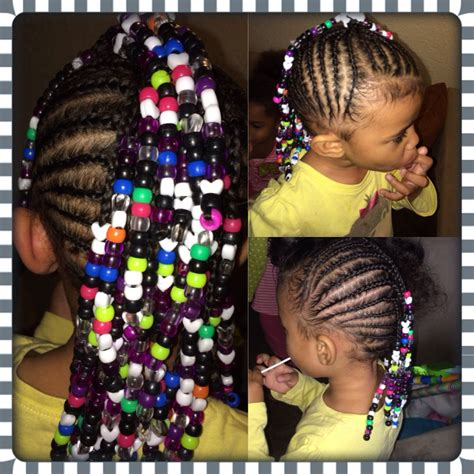 mixed braided toddler hairstyles cornrows mohawk beads toddler hairstyles mixed keep