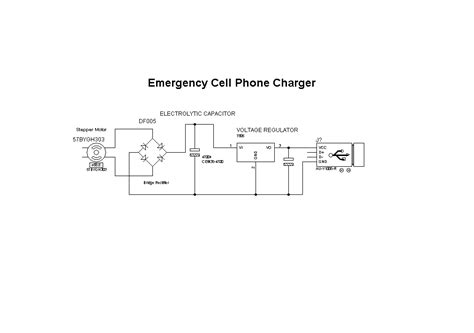 cell phone charger wiring diagram cell phone charger