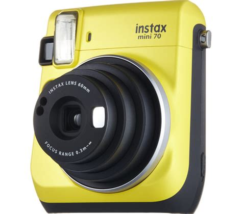 Fujifilm Instax Mini 70 Kuning buy instax mini 70 instant yellow free delivery