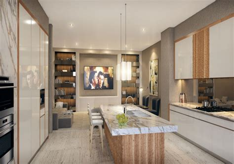 Grove Kitchen by One Park Grove Ultra Luxury Condos Starting At 1 800 Per