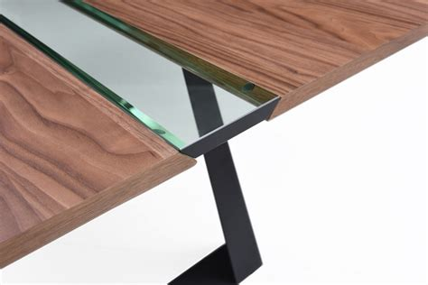 walnut glass coffee table walnut and glass coffee table with black metal legs