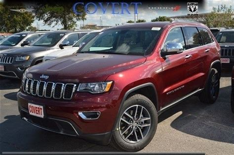 jeep grand cherokee limited 2017 red 1c4rjebgxhc669334 j09255 new jeep grand cherokee limited