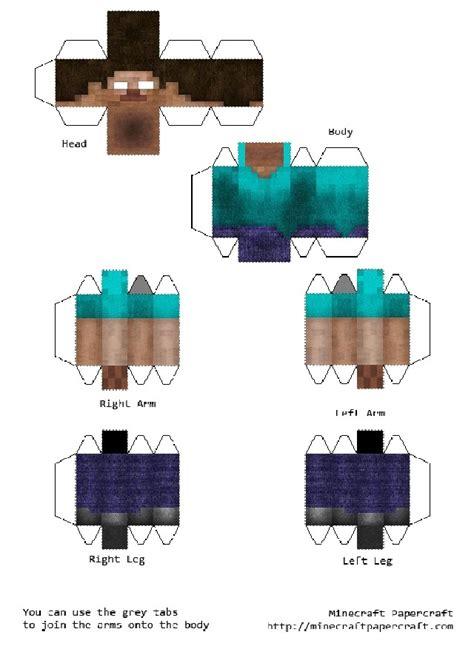 Minecraft Papercraft Herobrine - minecraft papercraft herobrine 28 images minecraft