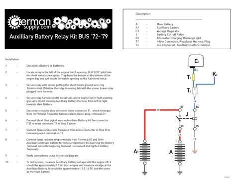 thesamba bay window view topic second battery