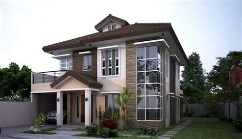 residential house contemporary elegant residential house design home design