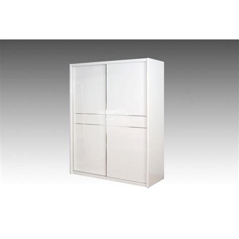 White Gloss Sliding Door Wardrobe by Mirrored Sliding Wardrobe In White Gloss 2 With Doors