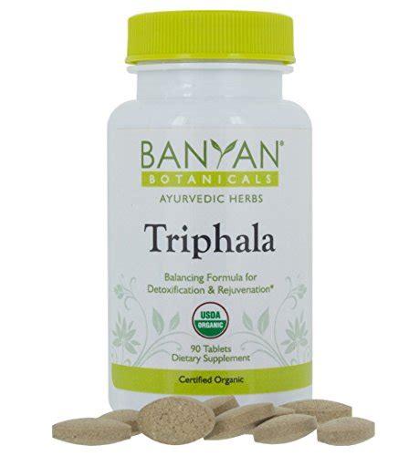 Banyan Botanicals Detox by Banyan Botanicals Triphala Usda Organic 90 Tablets