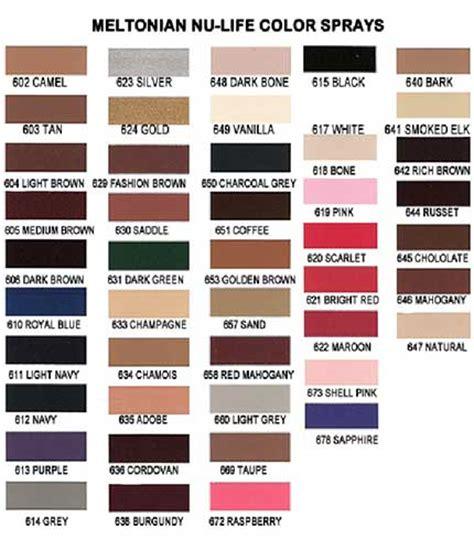 kiwi shoe color chart meltonian color chart