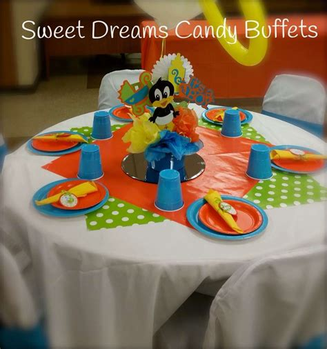 Baby Looney Tunes Baby Shower Supplies by Baby Looney Tunes Baby Shower Ideas Photo 5 Of 8