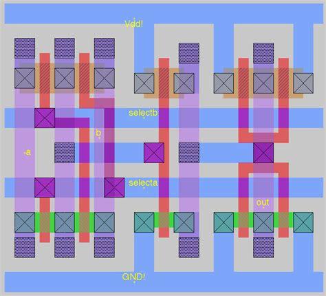 xor magic layout cell heirarchy