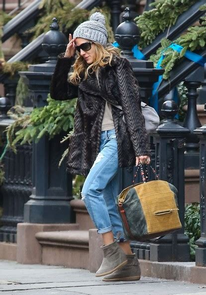 sarah jessica parker house sarah jessica parker photos photos sarah jessica parker leaving her house in new