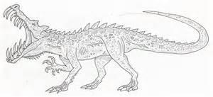kaprosuchus 2 by sommodracorex on deviantart