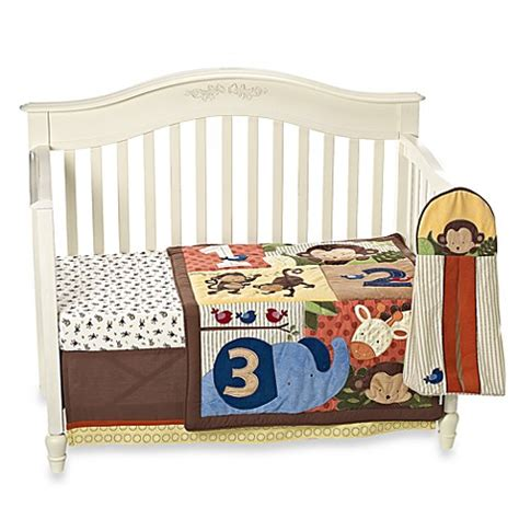 Kidsline Crib Bedding Set Kidsline Jungle 1 2 3 8 Crib Bedding Set And Accessories Buybuy Baby