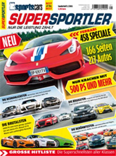 Auto Bild Sportscars Aktuelles Heft by Auto Bild Sportscars Sonderheft Ab Jetzt Supersportler