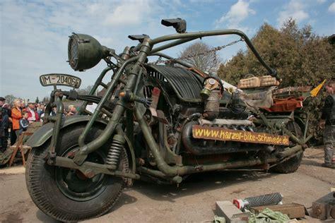 Boss Hoss Motorr Der Schweiz by Motorcycle 74 Panzer Bike Titanic Sidecar With T34