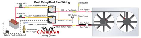 fan relay wiring diagram wiring diagram