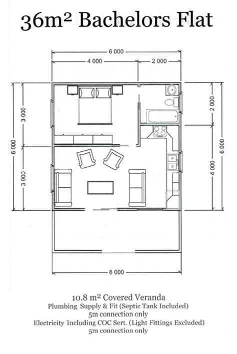 floor plan for bachelor flat esp log homes standard plans