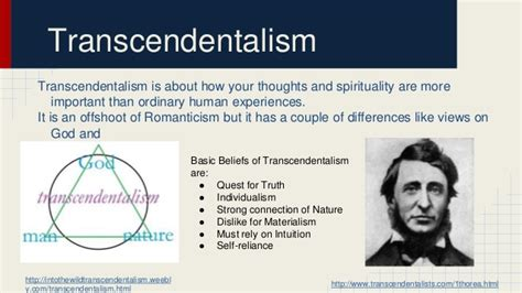 Thoreau Emerson And Transcendentalism Essay by Henry David Thoreau Transcendentali