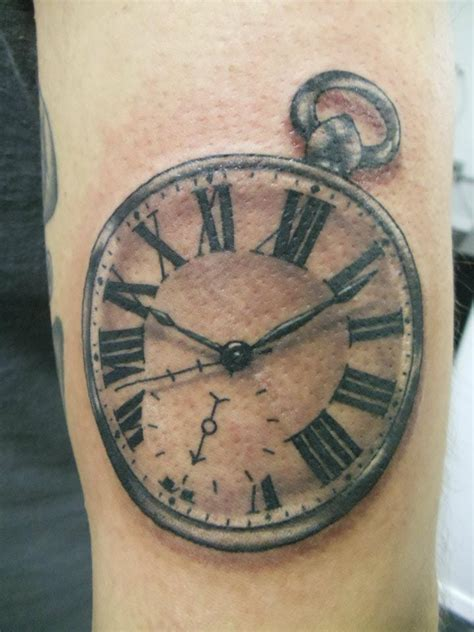 clock tattoos designs ideas and meaning tattoos for you