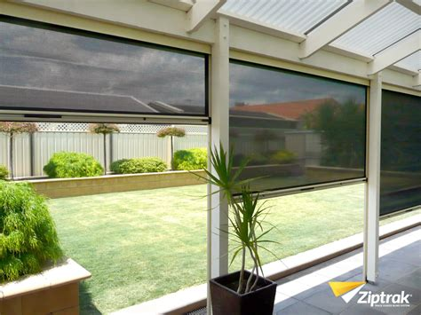 outdoor awning blind outdoor roller blinds perth 187 double blackout blinds