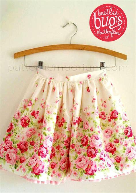 pattern emporium gathered skirt girls gathered skirt with optional pockets pattern emporium
