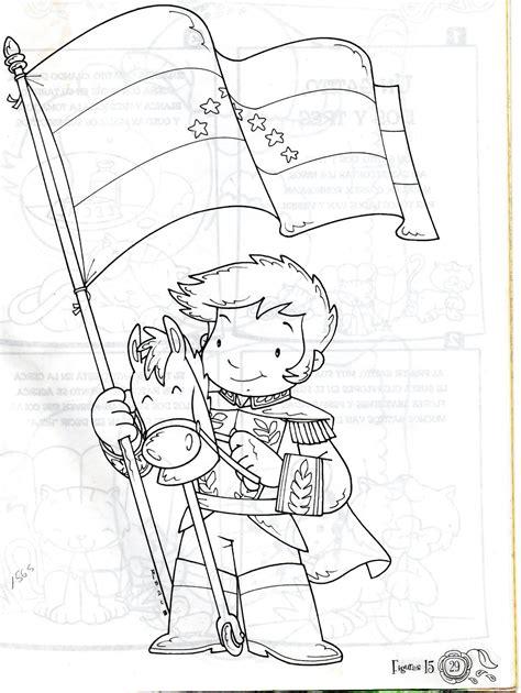 dibujos para colorear d simon bolivar c rolin dibujo de el ni 209 o sim 211 n bolivar