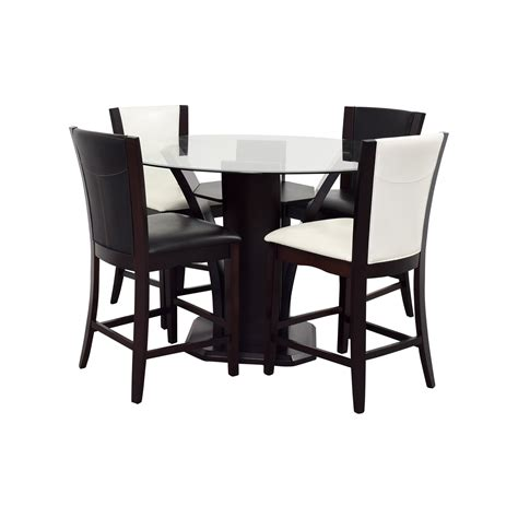 Raymour And Flanigan Dining Chairs 90 Raymour Flanigan Raymour Flanigan Black And White Counter Height Dining Set Tables