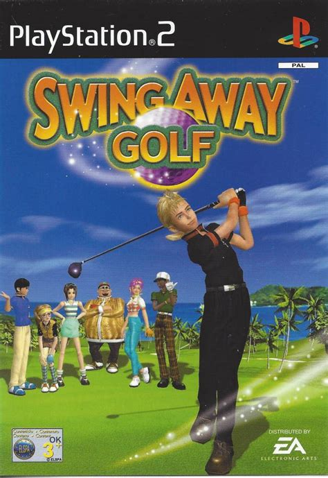 swing ps1 swing away golf for playstation 2 ps2 worldwide shipping