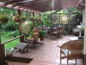 inspiring tips about small deck decorating ideas