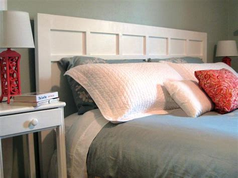 Build Your Own Headboard How To Make A Simple Cottage Style Headboard How Tos Diy