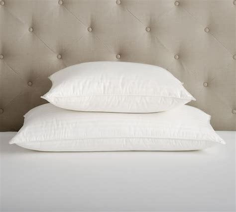 pottery barn bed pillows classic down pillow pottery barn