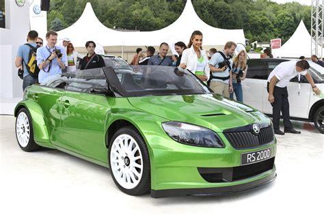 skoda fabia rs 2000 concept car wallpaper original