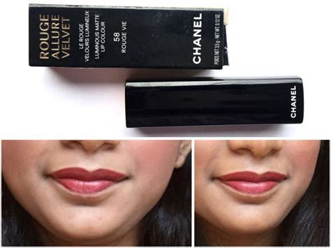 Chanel Velvet Luminous Matte Lip Colour 58