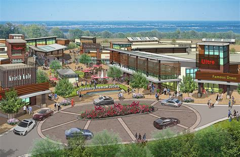 Cabin Branch Outlets by Clarksburg Premium Outlets At Cabin Branch