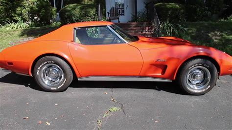 vintage corvette stingray classic cars 1976 corvette stingray youtube