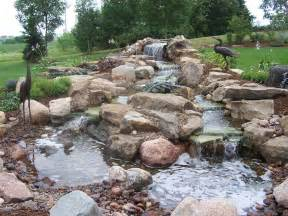 building ponds and waterfalls in backyard best backyard ponds home design lover