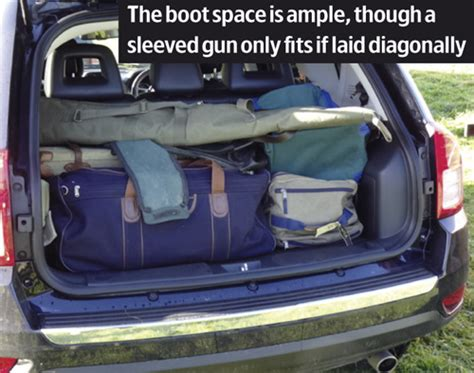 Jeep Compass Boot 4x4 Reviews Jeep Compass Shooting Uk