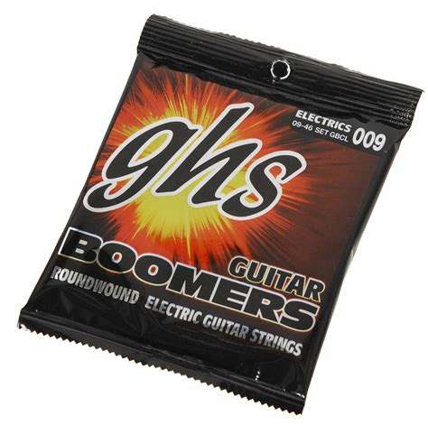 Ghs Gbcl Boomers Custom Light Electric Guitar Strings 9 46 Light Guitar Strings