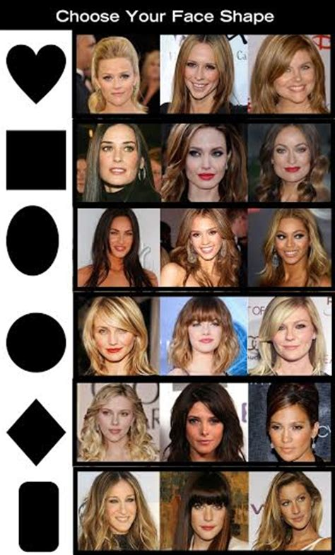haircut based on your shape how to choose the right haircut for your face shape