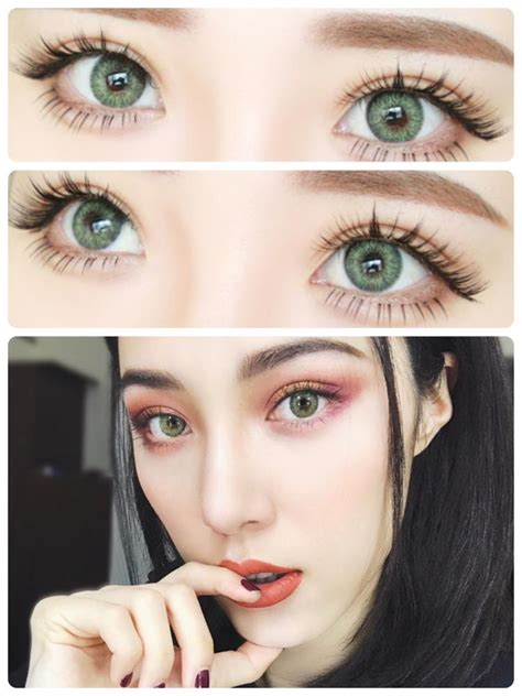 fresh look color blend contacts buy freshlook colorblends gemstone green colored contacts
