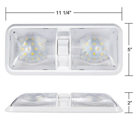 Rv Led Light Fixture 64 Kohree Rv Led Ceiling Dome Light Fixture With On Switch Interior Lighting