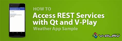 How To Access Rest Services From Qt Qml With V Play | android archives v play engine