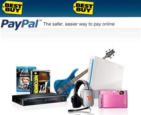 Girlshop Now Accept Paypal by 20 Best Buy Purchases With Paypal