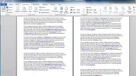 word layout changes how to change word 2010 layout on page youtube